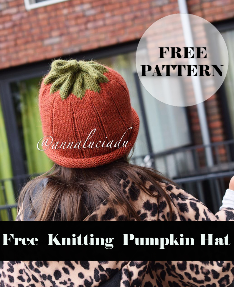 Knitting Pumpkin Hat Free pattern